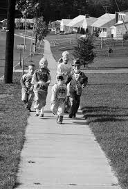ghosts of halloweens past vintage images of scary celebrations