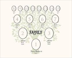 100 family tree template word doc 9 best images of simple