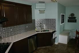 designer backsplashes for kitchens tin tile backsplash ideas kitchen extraordinary tin es discount