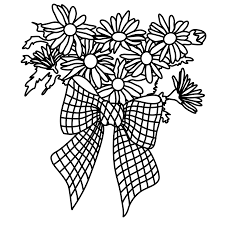 coloring pages flowers free downloads