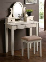 Vanity Table And Bench Set Modern Vanity Table With Mirror And Bench Foter