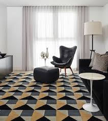 Black And White Modern Rugs Glamorous Modern Rugs For Living Room Patterned Rug Black Armchair