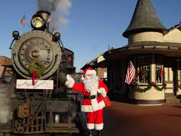 the magical north pole express train ride in pennsylvania you must