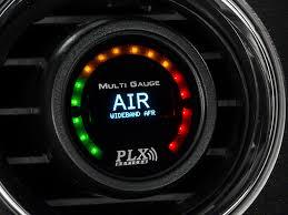 plx mustang dm 6 gauge and wideband air fuel module sensor combo