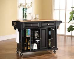the flexible and mobile kitchen cart on wheels modern kitchen wood kitchen island cart