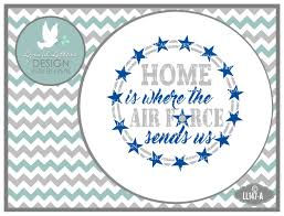 home is where the air sends us floating ornament design svg