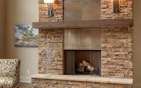 fireplace modern familyroomwithstone stovers