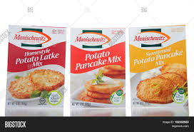 potato pancake mix manischewitz alameda ca april 21 2017 boxes image photo bigstock