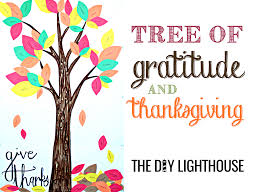 tree of gratitude and thanksgiving how to the diy lighthouse