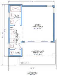 guest cottage floor plans tiny guest house floor plans house plan