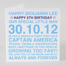 personalised birthday boy card u0026 optional tag by megan claire