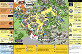 Universal Studios Hollywood Map Video Universal Studios Hollywood Inexplorando Com