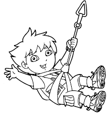 37 diego coloring pages cartoons printable coloring pages