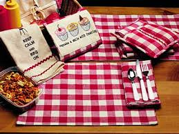 54 inch table runner picnic red check 54 inch table runner by olivias heartland the