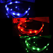 party sunglasses with lights led spiderman glasses flashing glasses light party glow mask