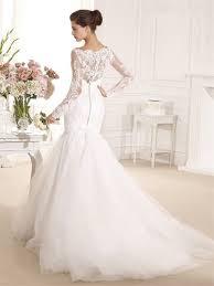long sleeve mermaid wedding dresses made in china high neck