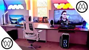ultimate 15 000 gaming setup desk tour 2017 u2013 gismo news