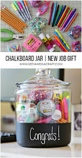 new gifts craft new gift in a chalkboard jar congratulations gift