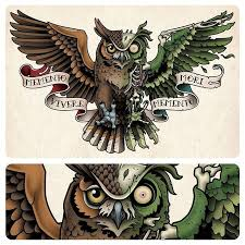 collection of 25 owl with chest