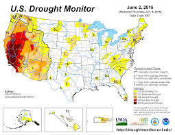 california drought map january 2016 drought may 2015 state of the climate national centers for