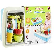 Kitchen Sink Play Wash Up Kitchen Sink Set Big W