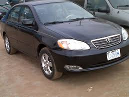 modified toyota corolla 1998 clean reg toyota corolla 2003 model for 920k autos nigeria
