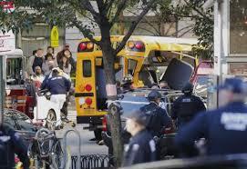 eight dead after truck driver runs pedestrians in nyc breitbart