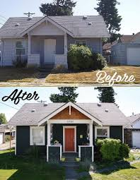 Before And After Home Exteriors by Our Home Exterior Before After U2014 The Brave Life