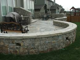 Backyard Deck And Patio Ideas by 25 Great Stone Patio Ideas For Your Home Flagstone Patio Stone