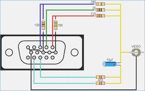 vga to rca wiring schematic wiring library