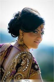 bridal makeup purple dress with gold accents pea themed sacramento california wedding