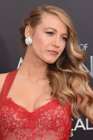 front view of side swept hairstyles blake lively side swept hairstyle styles weekly