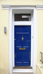cool door knockers 21 cool blue front doors for residential homes
