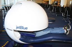 Sleeping Pods Think Again Before Napping In Jetblue U0027s Sleep Pods New York Post