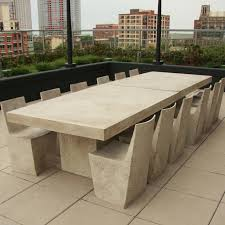 Slab Dining Table by Stone Slab Table And Chairs Looks Heavy Right Well Luckily It U0027s