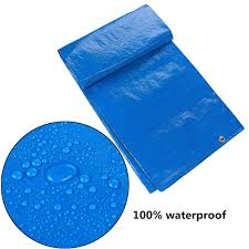 Ground Cover Sheets by Various Size Waterproof Tarpaulin Ground Sheet Camping Lightweight