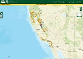 Pacific Region Map Pacific Southwest Region Online Web Maps