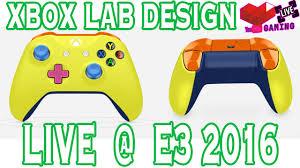 xbox design lab control parts and colors e3 expo 2016 xbox