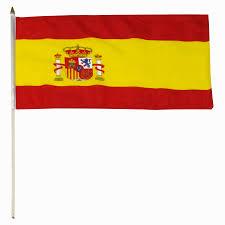 spain flag 12 x 18 inch