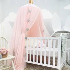 palace style baby crib netting bed mantle bed nets dome tent kids