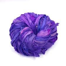 silk ribbon sari silk ribbon yarn darn yarn