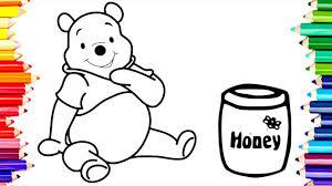 learn to draw u0026 paint monkey bananas pooh honey pot statue of