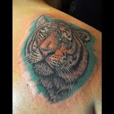 great tiger 9 tiger shoulder on tattoochief com