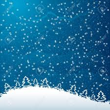 just realistic beautiful snow on a blue background with christmas