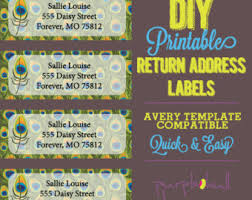 Avery Template 30 Labels Per Sheet Avery Brand Template Etsy