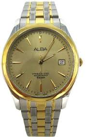 Jam Tangan Alba buy alba axhk90x1 jam tangan pria silver watches uae souq