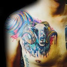 aries tattoos for ideas and inspiration for guys
