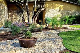 landscape ideas for front yard ranch house landscaping of a style