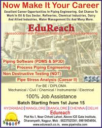 piping design engineer job description edureach may 2015