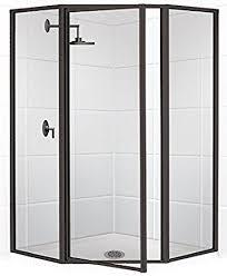 Swing Shower Doors Coastal Shower Doors Legend Series Framed Neo Angle Swing Shower